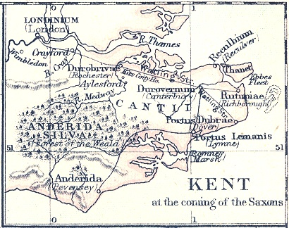 Kent at the Coming of the Saxons