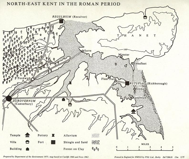 NE Kent in Roman period