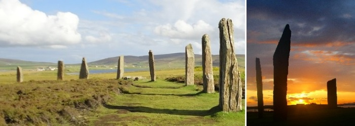 Ring of Brodgar & Stones of Stenness